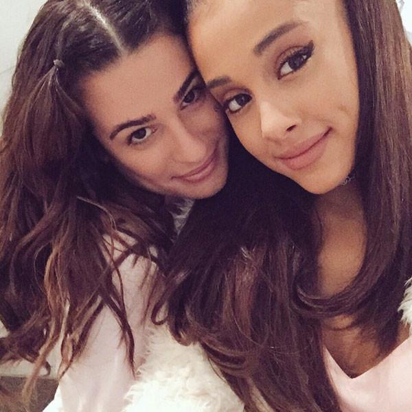 Lea Michele, Ariana Grande