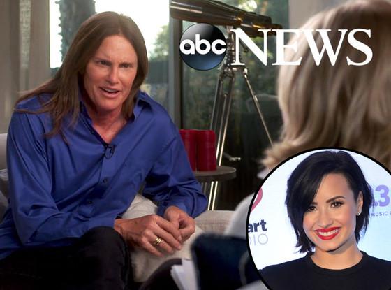 Bruce Jenner, Demi Lovato