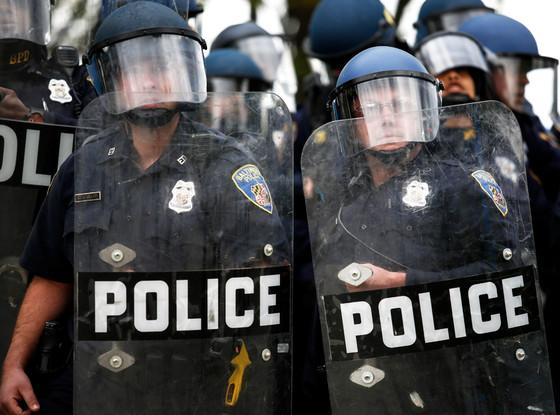 Baltimore Protest, Police