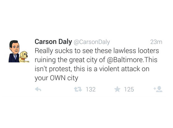 Carson Daly, Twitter