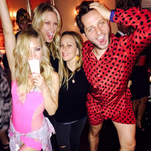 Kate Hudson, Jennifer Meyer, Derek Blasberg, Instagram