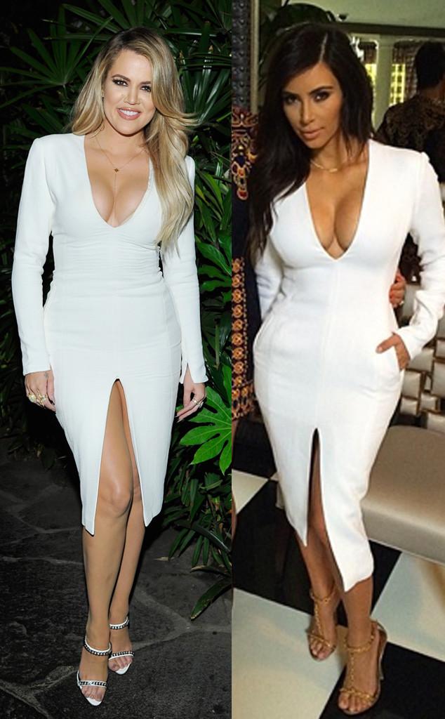 7d3208c0905e Khloé Kardashian   Kim Kardashian Share Clothing Again—Which Sister ...