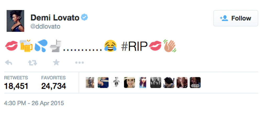 Demi Lovato, Tattoo Cover Up, Twitter