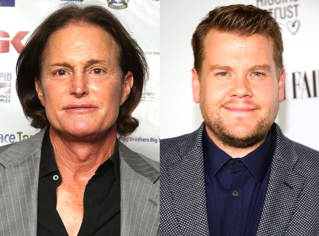 James Corden, Bruce Jenner