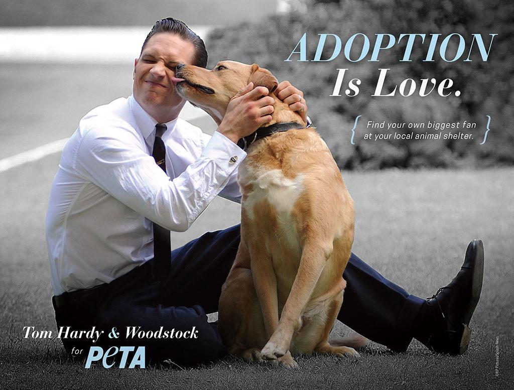 Tom Hardy, PETA