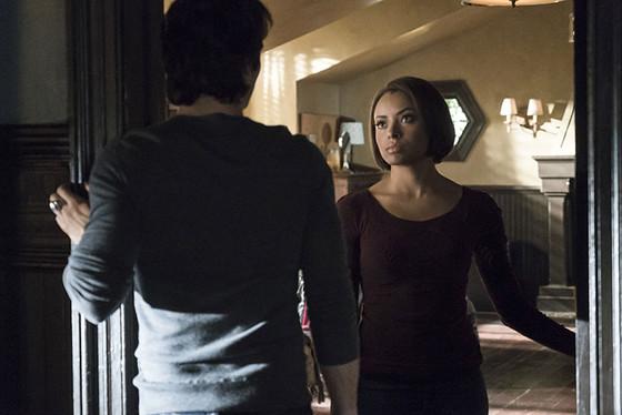 The Vampire Diaries, Kat Graham, Ian Somerhalder