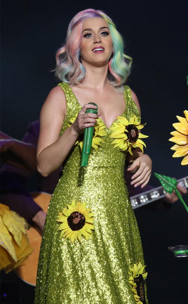 Katy Perry, Sunflower Dress