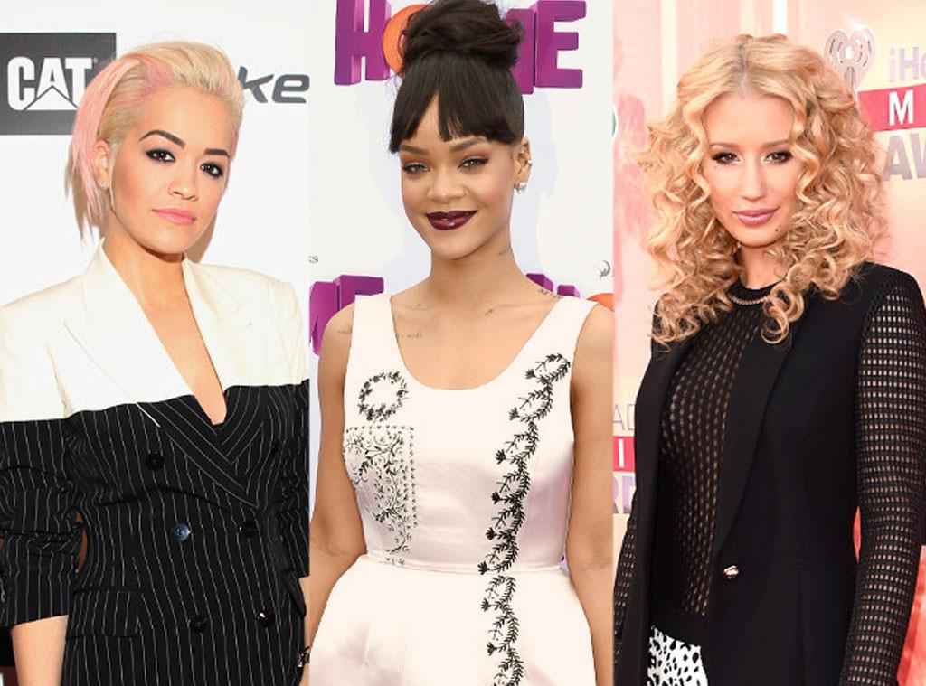 Rita Ora, Rihanna, Iggy Azalea