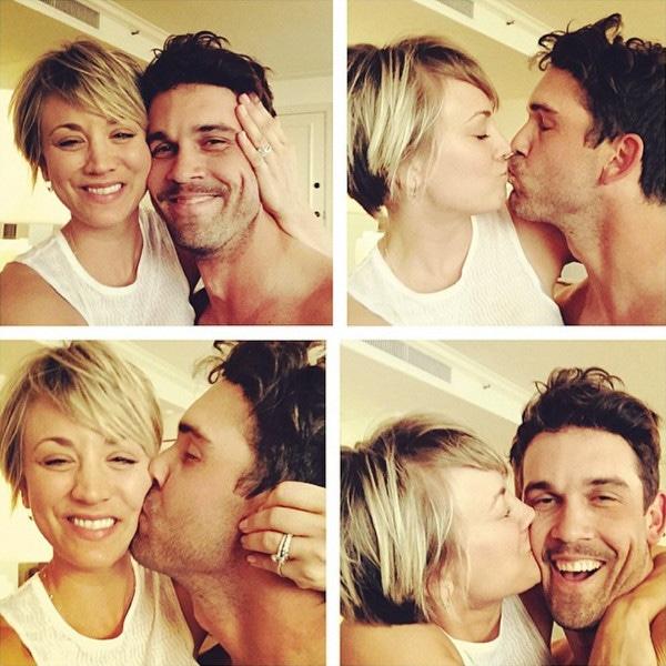Kaley Cuoco, Ryan Sweeting, Instagram