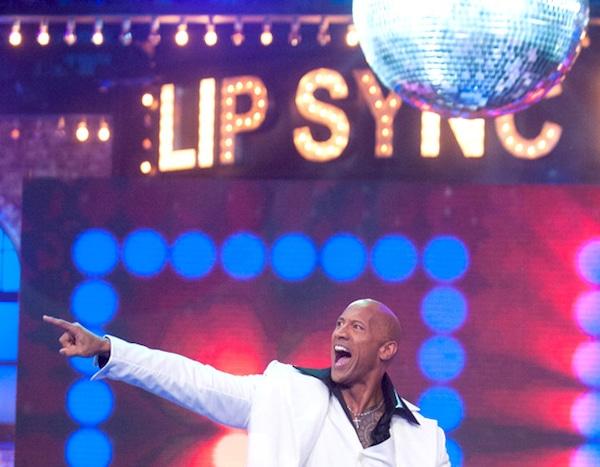 dwayne johnson from lip sync battle performances e news