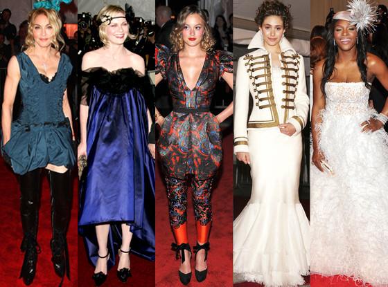 Florence Welch, Miley Cyrus, Leighton Meester, Emmy Rossum, Serena Williams, MET Gala, Worst Dressed