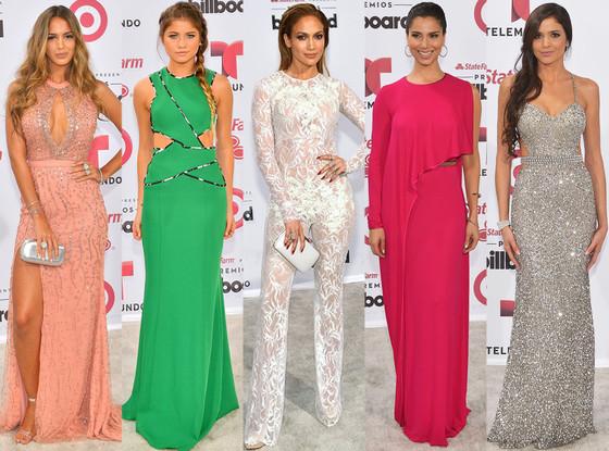 As mais bem e mal vestidas do Latin Billboard 2015