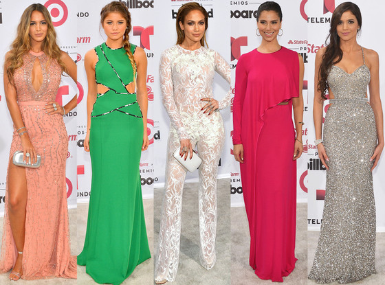 Best Dressed, Billboard Latin Music Awards
