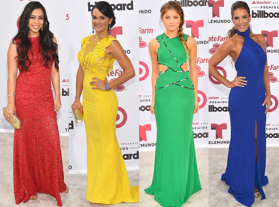 Latin Billboard Awards, Primary Colors