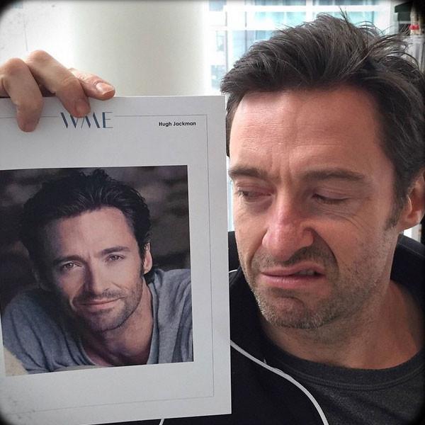 Hugh Jackman, TBT, Instagram