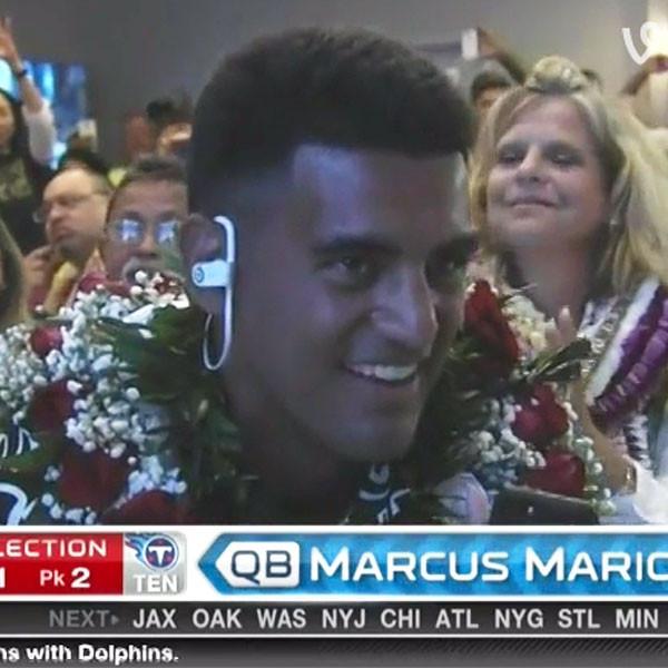 Marcus Mariota, NFL Draft, Vine