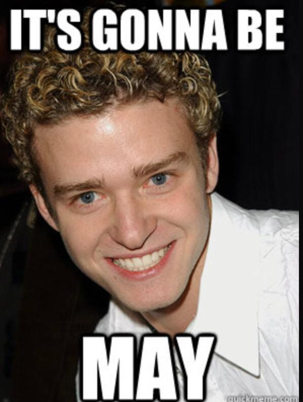 It's Gonna Be May, Justin Timberlake