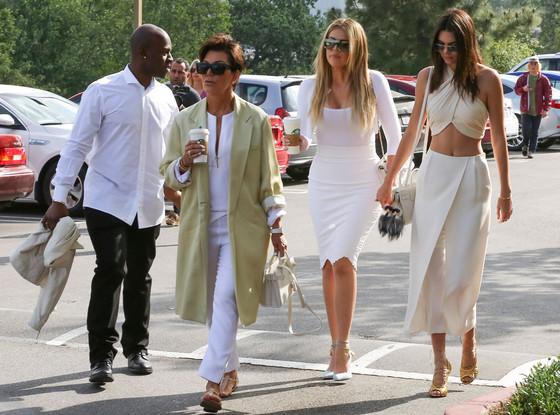 Kris Kardashian, Corey Gamble, Kendall Jenner, Khloe Kardashian
