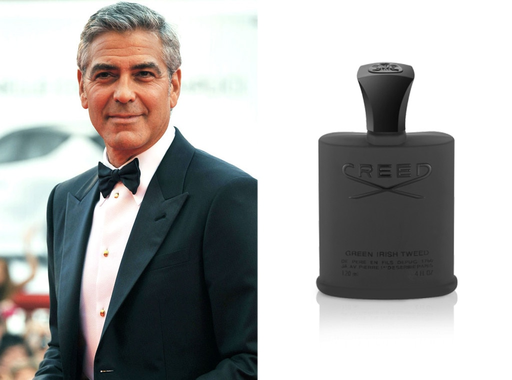 George Clooney, Celebs Favorite Beauty Products