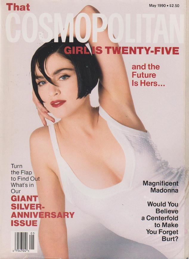 Madonna, Cosmpolitan, 1990