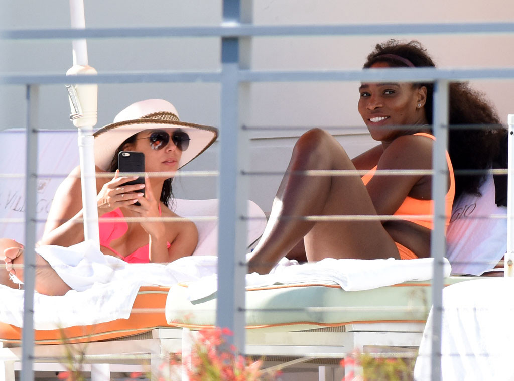 Eva Longoria, Serena Williams