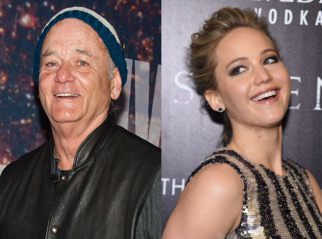 Bill Murray, Jennifer Lawrence
