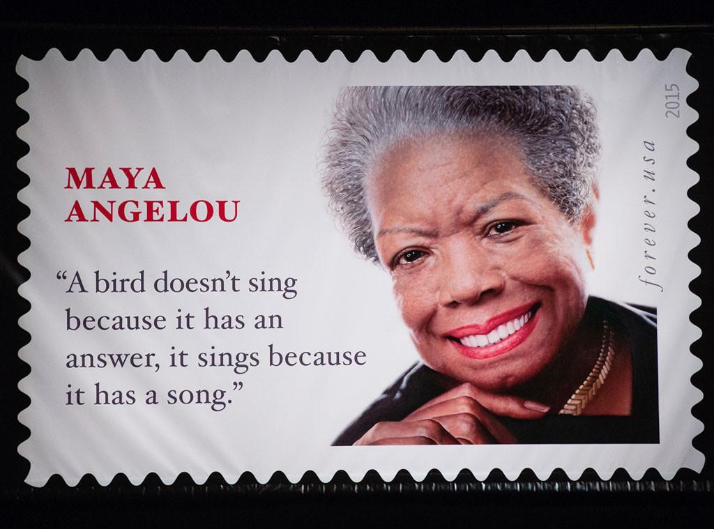 Maya Angelou, Forever Stamp