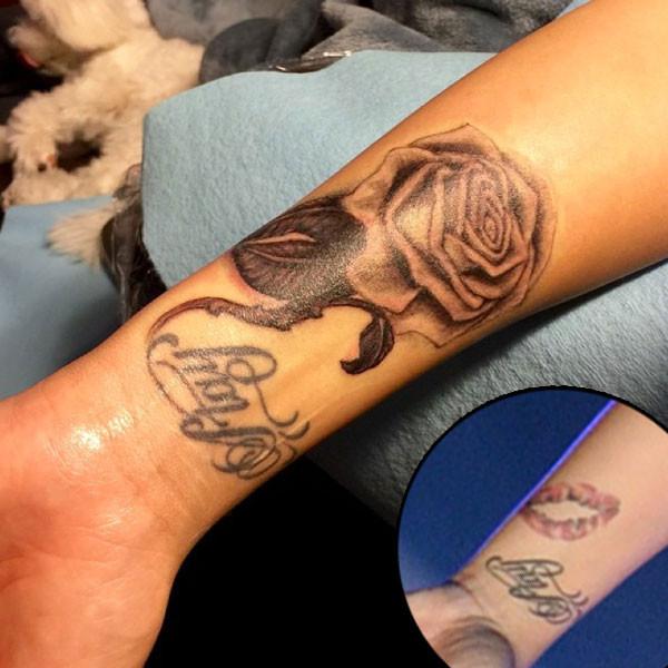 Demi Lovato, Tattoo, Instagram