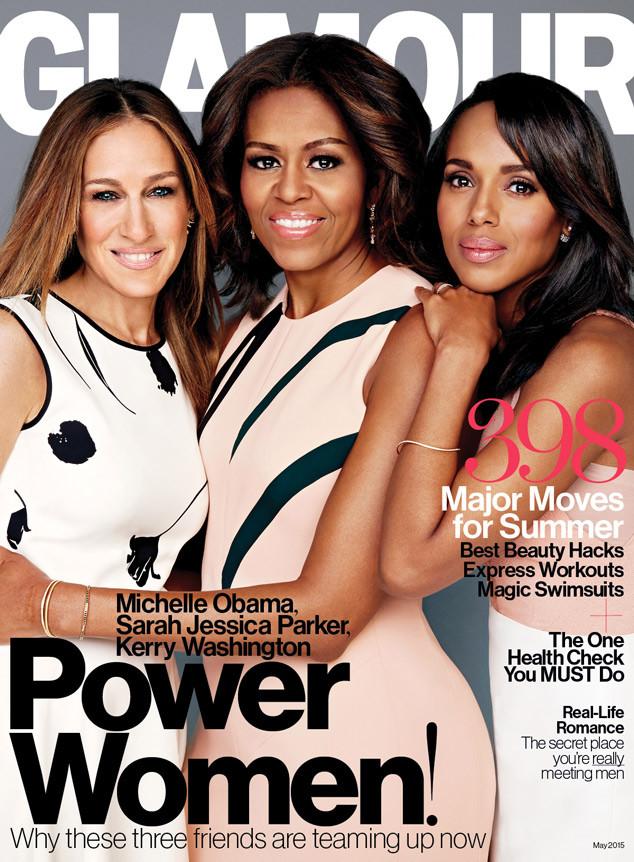 Michelle Obama, Sarah Jessica Parker, Kerry Washington, Glamour