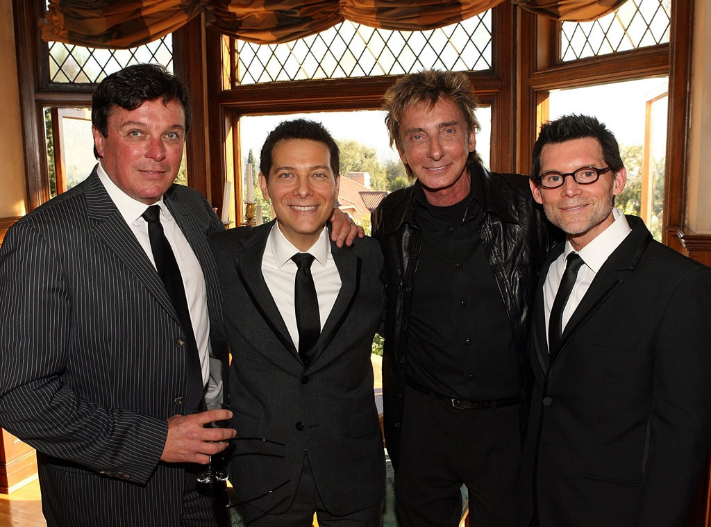 Garry Kief, Barry Manilow, Michael Feinstein, Terrence Flannery