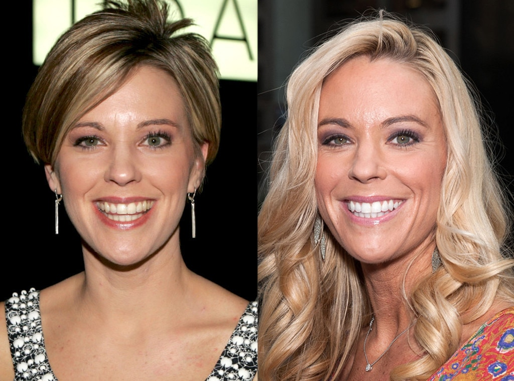 Kate Gosselin, Then and Now