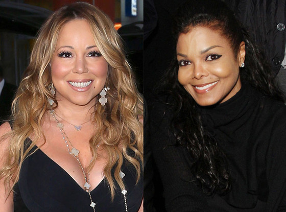 Mariah Carey, Janet Jackson
