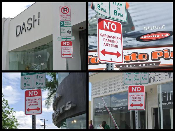 No Kardashian Parking, Plastic Jesus