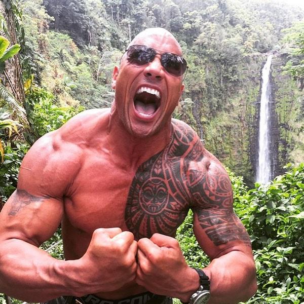The Rock, Dwayne Johnson, Instagram