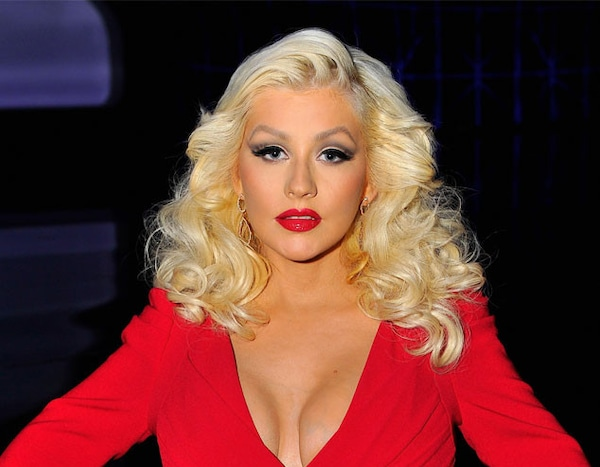 Christina Aguilera From Real Or Fake Busty Celebs  E News-4358