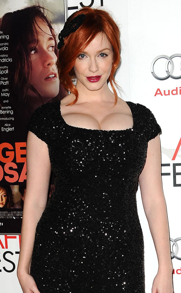Christina rene hendricks boobs real fake
