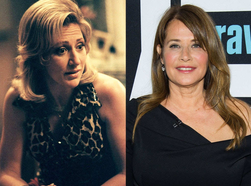 Lorraine Bracco as Carmela Soprano on  The Sopranos  -  The role that eventually went to Edie Falco was originally offered to Lorraine Bracco, but the Oscar nominee said she had already done the role in  Goodfellas  and wanted to try her hand at something new.