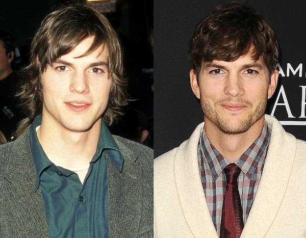 Ashton Kutcher From Celebs Who Deny Getting Plastic