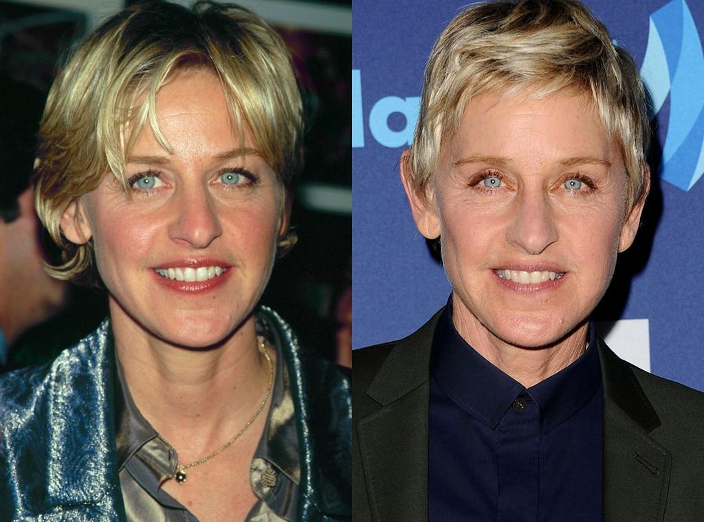 Ellen Degeneres, Then and Now