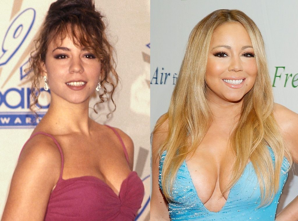 Mariah Carey, Then and Now