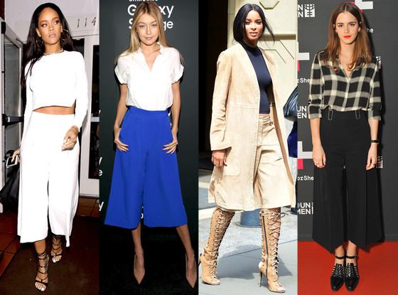 Rihanna, Giga Hadid, Ciara, Emma Watson