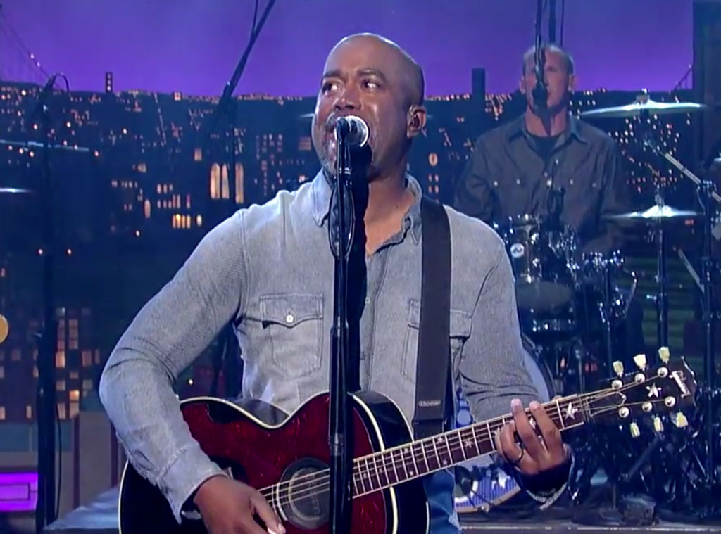 Darius Rucker, Hootie and the Blowfish, David Letterman