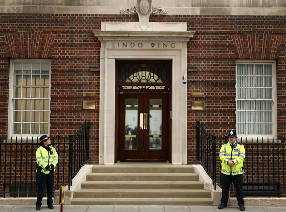 Lindo Wing, Kate Middleton in Labor