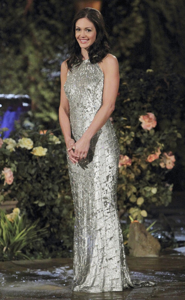 "Desiree Hartsock -  Though Des presented  Drew Kinney  with the first rose on the premiere of season nine, by the finale, she told her runner-up she just didn't see a ""future together. I feel like there's something missing."" Later in the episode, she accepted a proposal from  Chris Siegfried ."