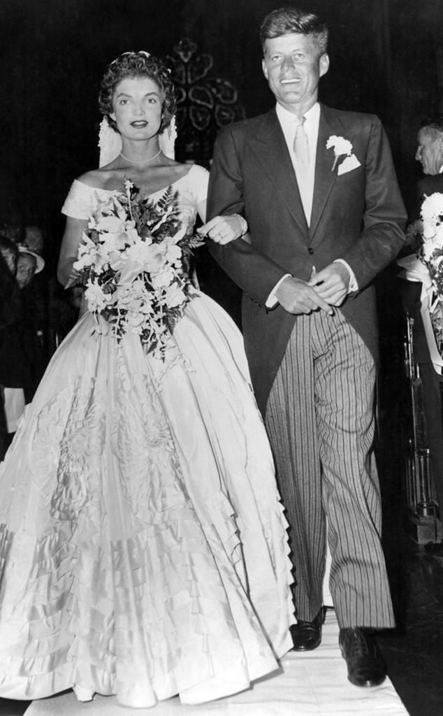 John F. Kennedy, John Fitzgerald Kennedy, Jacqueline Lee Bouvier , Wedding
