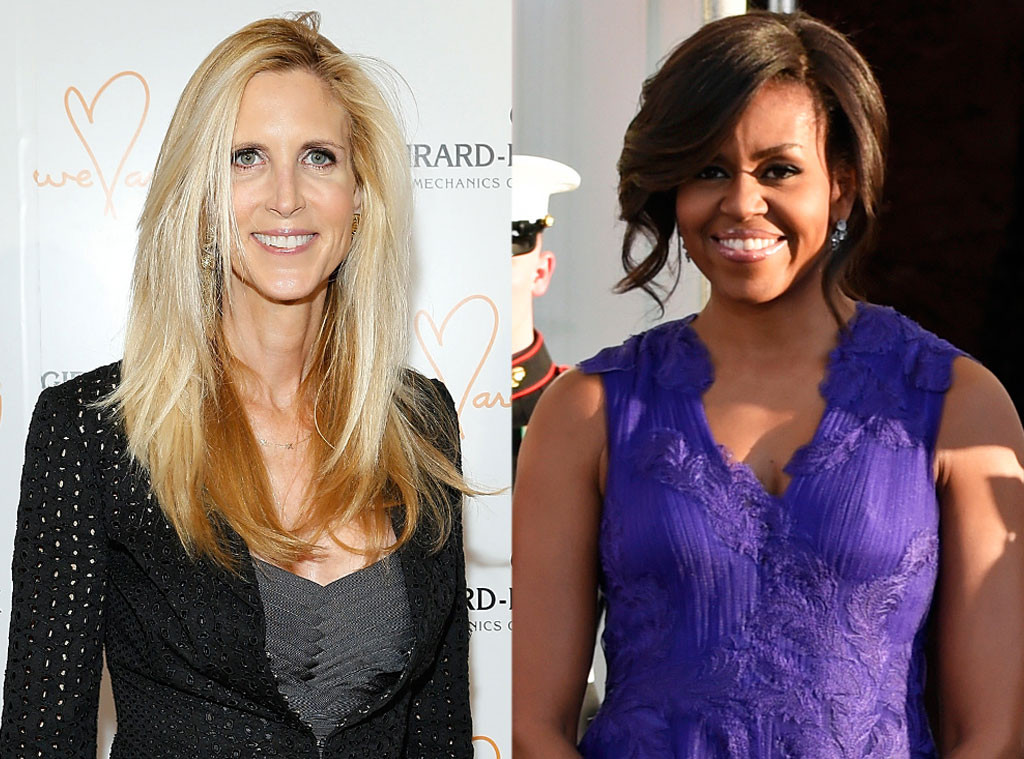 Ann Coulter, Michelle Obama