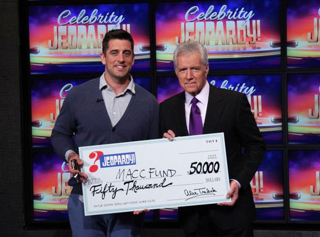 Aaron Rodgers, Celebrity Jeopardy Winner