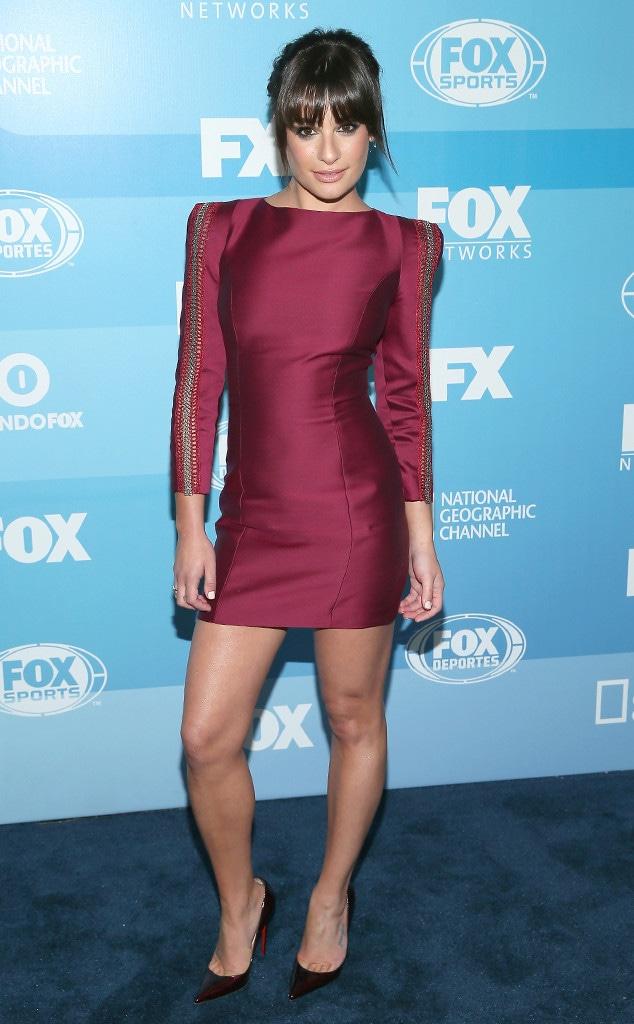 Lea Michele, Fox Upfronts