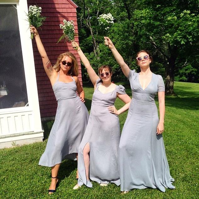 Celebrity Wedding Trivia Questions: Lena Dunham From Celebrity Bridesmaids