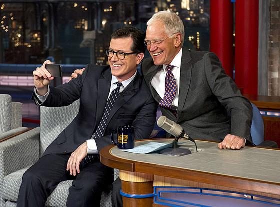 Stephen Colbert, David Letterman